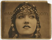 8z012 GREAT MOMENT LC 1921 wonderful close up of Gloria Swanson with fantastic jewelry!
