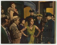 8z034 VICE SQUAD LC 1931 police round up bad girls and their johns & put them in paddy wagon, rare!