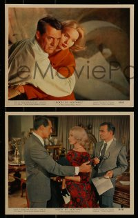 9a014 NORTH BY NORTHWEST 12 color 8x10 stills 1959 Cary Grant, Eva Marie Saint, Hitchcock classic!