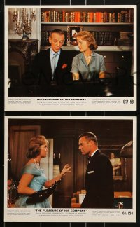 9a017 PLEASURE OF HIS COMPANY 12 color 8x10 stills 1961 Fred Astaire, Debbie Reynolds, Hunter, Palmer