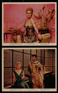 9a040 SILVER CHALICE 9 color 8x10 stills 1955 Virginia Mayo & Paul Newman in his first movie!