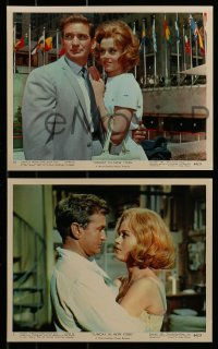 9a018 SUNDAY IN NEW YORK 12 color 8x10 stills 1964 Cliff Robertson, Rod Taylor, Jane Fonda, Morrow!