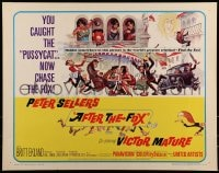 9c018 AFTER THE FOX 1/2sh 1966 De Sica's Caccia alla Volpe, Peter Sellers, cool Frank Frazetta art!