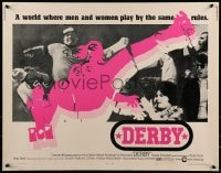 9c127 DERBY 1/2sh 1971 Charlie O' Connell, where men & women play by the same rules!