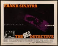 9c130 DETECTIVE 1/2sh 1968 Frank Sinatra as gritty New York City cop, an adult look at police!