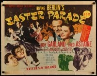 9c147 EASTER PARADE style B 1/2sh 1948 Judy Garland & dancing Fred Astaire, Irving Berlin musical!