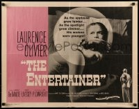 9c156 ENTERTAINER 1/2sh 1960 as Laurence Olivier's spotlight grew dimmer, his women were younger!