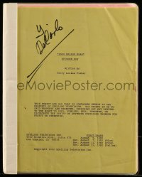 9d005 2000 MALIBU ROAD TV revised 1st draft script Aug 5, 1992, screenplay by Terry Louise Fisher