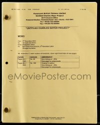 9d003 ALFIE revised draft English script July 29, 2003, screenplay by Charles Shyer & Elaine Pope!