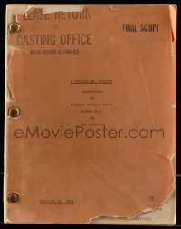 9d012 ALL THAT MONEY CAN BUY final draft script February 18, 1941, screenplay by Dan Dotheroh!