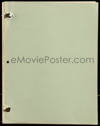 9d027 BAD WOMAN BLUES script 1980 unproduced screenplay by McIntosh, signed by Dean Tavoularis!