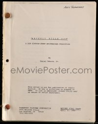 9d038 BEVERLY HILLS COP revised final draft script April 30, 1984, screenplay by Daniel Petrie Jr.!