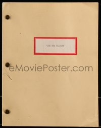 9d040 BIG PICTURE second draft script February 1987, unproduced screenplay by S.L. Ensley!