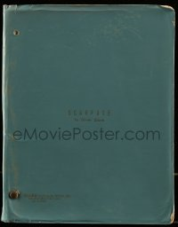 9d283 SCARFACE third draft script 1983 screenplay by Oliver Stone, Brian De Palma drug classic!