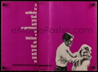9f012 CARPETBAGGERS pressbook 1964 great images of sexy Carroll Baker & George Peppard!