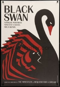 9k020 BLACK SWAN 4 heavy stock teaser English 1shs 2010 striking La Boca deco art, complete set!