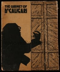9k127 CABINET OF DR CALIGARI English pressbook 1924 full-color posters + much more, ultra rare!