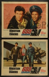 9r024 633 SQUADRON 8 LCs 1964 Cliff Robertson, George Chakiris, The Winged Legend of World War II!