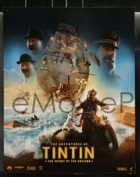 9r008 ADVENTURES OF TINTIN 10 LCs 2011 Steven Spielberg's version of the Belgian comic!