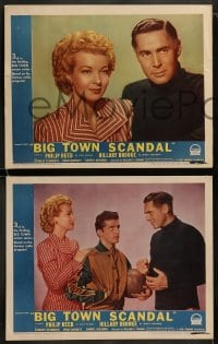 9r064 BIG TOWN SCANDAL 8 LCs 1947 underground basketball gamblers caught fixing big game!