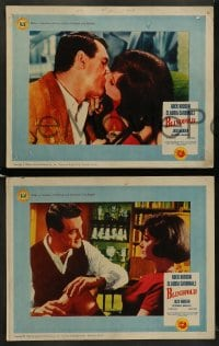 9r067 BLINDFOLD 8 int'l LCs 1966 Rock Hudson, Claudia Cardinale, Jack Warden!