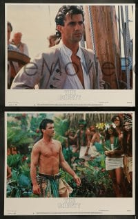 9r075 BOUNTY 8 LCs 1984 images of Mel Gibson, Anthony Hopkins, Liam Neeson, Mutiny on the Bounty!