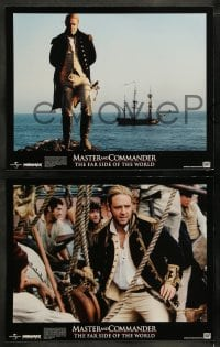 9r011 MASTER & COMMANDER 10 LCs 2003 Russell Crowe, Paul Bettany, Peter Weir, Far Side of the World!