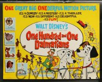 9r016 ONE HUNDRED & ONE DALMATIANS 9 LCs 1961 classic Walt Disney canine cartoon, complete set!