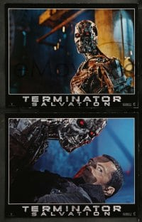 9r005 TERMINATOR SALVATION 12 LCs 2009 Christian Bale, Sam Worthington, cool sci-fi images!