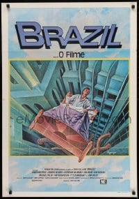 the world of terry gilliam in the science fiction satire brazil Brazil is a 1985 dystopian[9] science fiction film[10] directed by terry gilliam and written by gilliam, charles mckeown, and tom stoppard the film stars jonathan pryce and features robert de niro, kim greist, michael palin, katherine helmond, bob hoskins and ian.