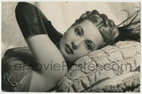 9x016 ANN SOTHERN deluxe 7.75x11.75 still 1940 super sexy close portrait laying on bed!