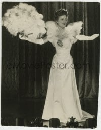 9x185 SHOW BOAT 8.25x10.5 still 1936 close up of Irene Dunne performing on stage in great dress!