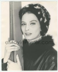 9x169 PINK PANTHER deluxe 9.5x11.75 Italian still 1964 Capucine with skis & fur by Pierluigi!