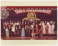 9x194 THAT'S ENTERTAINMENT color 11x13.75 still 1974 portrait of 50 of MGM's top Hollywood stars!