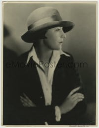 9x199 VIRGINIA VALLI deluxe 10.75x13.75 still 1927 profile in casual clothes by Rayhuff-Richter!