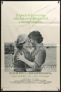 9y024 ALICE DOESN'T LIVE HERE ANYMORE 1sh 1975 Martin Scorsese, Ellen Burstyn, Kris Kristofferson