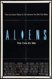9y027 ALIENS 1sh 1986 there are some places in the universe you don't go alone!