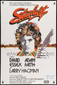 1j022 STARDUST English 1sh 1974 Michael Apted directed, David Essex, Keith Moon rock & roll!