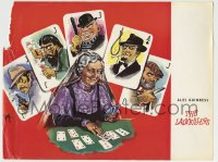 1m018 LADYKILLERS English 11x15 1955 great completely different playing card art by Longi!
