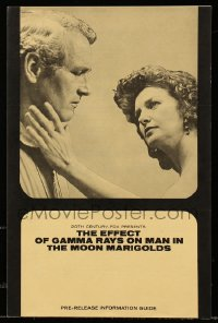 1m033 EFFECT OF GAMMA RAYS ON MAN-IN-THE-MOON MARIGOLDS 9x13 pre-release information guide 1972