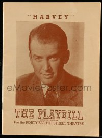 1m004 HARVEY playbill 1947 James Stewart takes over the lead role from Joe E. Brown!