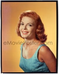 1m041 PATRICIA OWENS 8x10 transparency 1958 great smiling portrait while starring in The Fly!