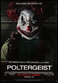 1p374 POLTERGEIST advance Italian 1p 2015 close up horror image of incredibly creepy clown doll!