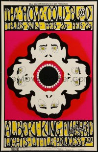 1p020 MOVE/COLD BLOOD/ALBERT KING 14x22 music poster 1969 cool psychedelic Greg Irons art!