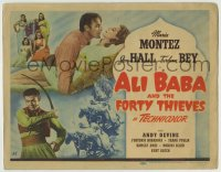 1r011 ALI BABA & THE FORTY THIEVES TC 1943 Maria Montez, Jon Hall & Turhan Bey, Arabian Nights!
