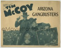 1r021 ARIZONA GANG BUSTERS TC 1940 Tim McCoy in Texas Marshal, but really in this movie!