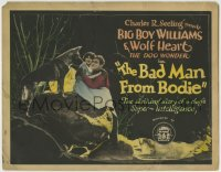 1r024 BAD MAN FROM BODIE TC 1925 Guinn Big Boy Williams & Wolf Heart the Dog Wonder