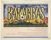 1r026 BARABBAS TC 1962 Richard Fleischer directed, Anthony Quinn & Silvana Mangano!