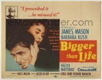 1r033 BIGGER THAN LIFE TC 1956 James Mason is prescribed Cortisone & becomes addicted, Barbara Rush