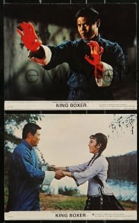 1s014 5 FINGERS OF DEATH 8 8x10 mini LCs 1973 martial arts masterpiece with sights like never before!